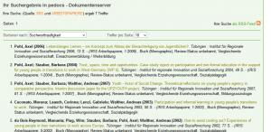 Screenshot pedocs.de