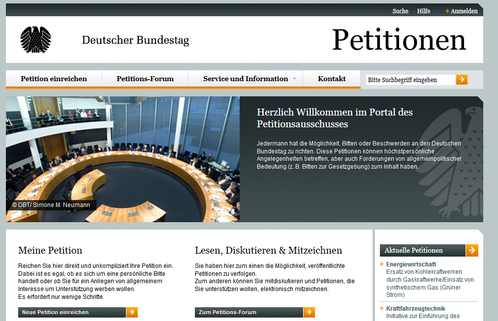 Petitionen