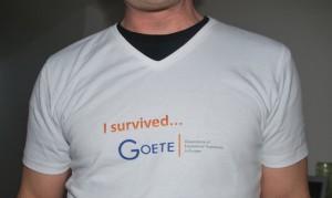 I survived GOETE T-Shirt