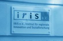 Schild IRIS-Büro
