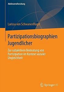 Cover des Buchs Partizipationbiographien Jugendlicher