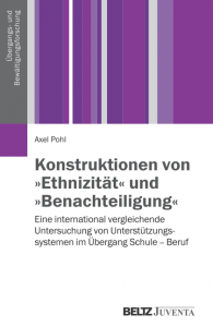"Cover of the book ''Konstruktionen von ""Ethnizität""…''"