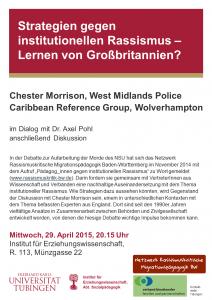 Poster zur Veranstaltung Morrison